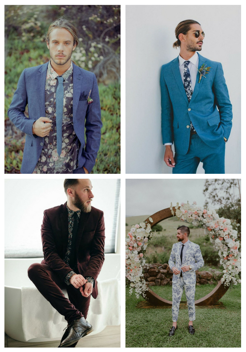25 Ways To Incorporate Florals Into Groom's Attire