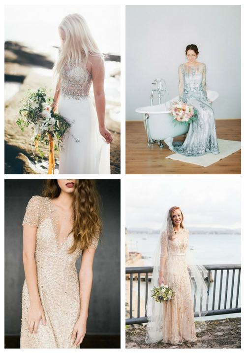 25 Embellished Wedding Dresses That Wow