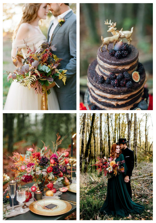 37 Inspiring Fall Woodland Wedding Ideas