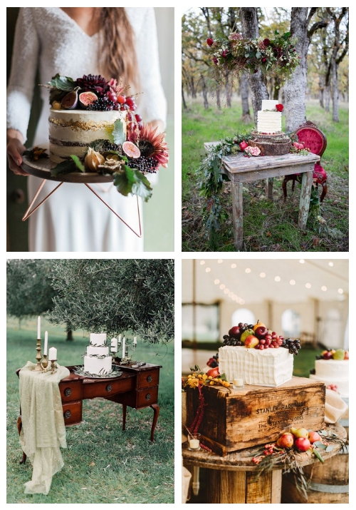 3 Tips And 20 Ideas To Display Your Wedding Cake