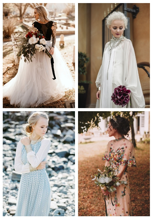 20 Non-Traditional Bridal Outfits That Wow