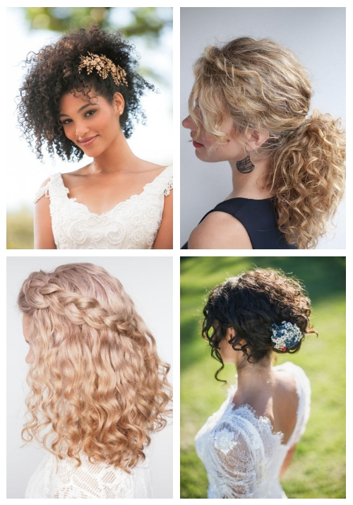 24 Wedding Hairstyles For Naturally Curly Hair