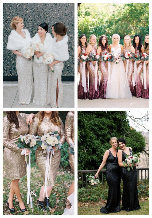 25 Sequin Bridesmaid Dresses For A Glam Touch