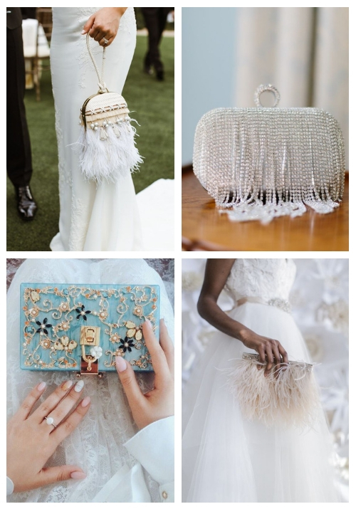27 Beautiful Bridal Clutches That Inspire