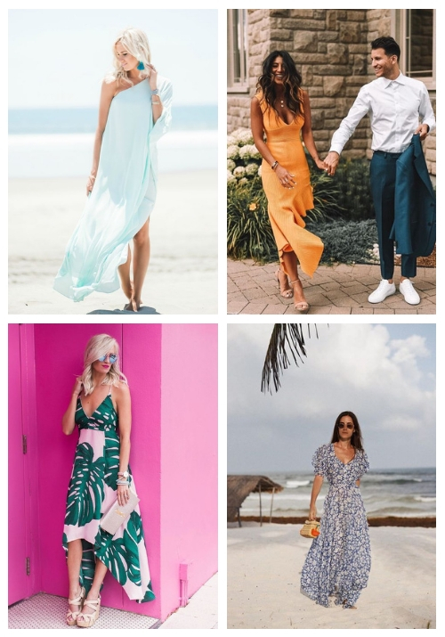 Beach Wedding Guest Dresses Happywedd Com