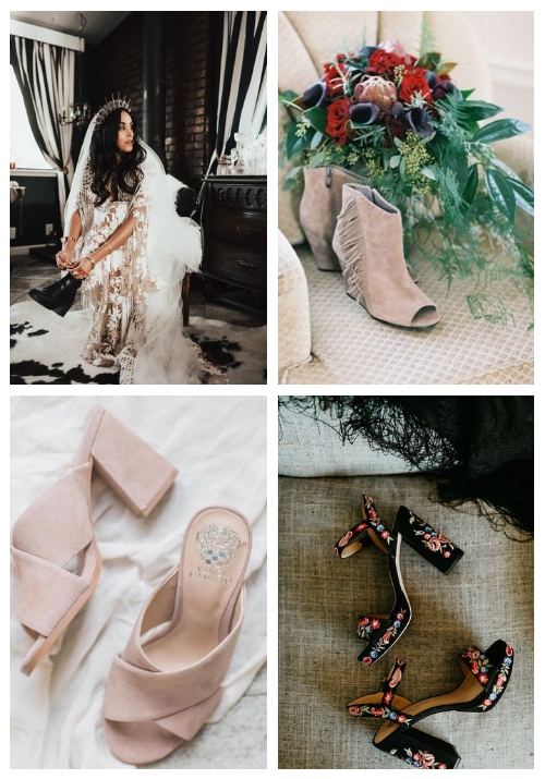 26 Boho Wedding Shoes And Boots That Inspire