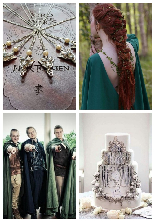 30 Inspiring Lord Of the Rings Wedding Ideas