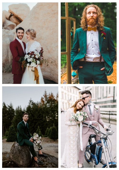 25 Colorful Groom Attire Ideas For A Statement
