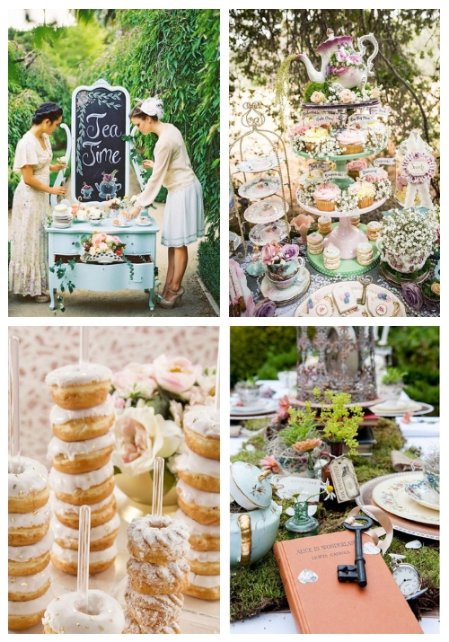 30 Lovely Tea Party Bridal Shower Ideas