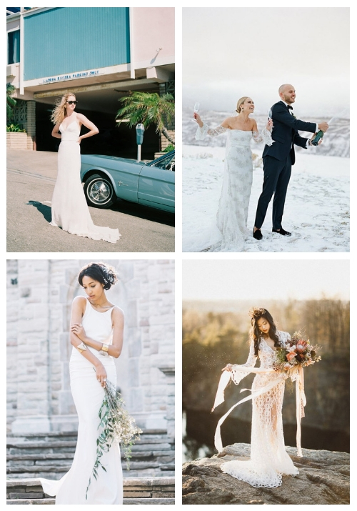 32 Sexy And Bold Sheath Wedding Dresses
