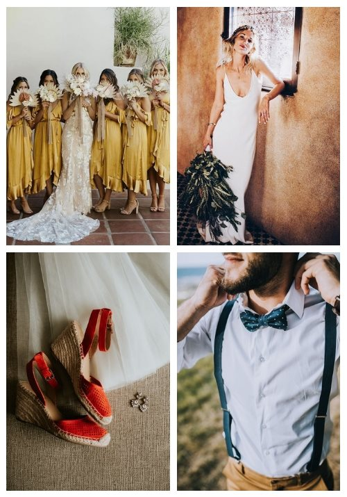 37 Ideas To Dress Up For A Hot Weather Wedding